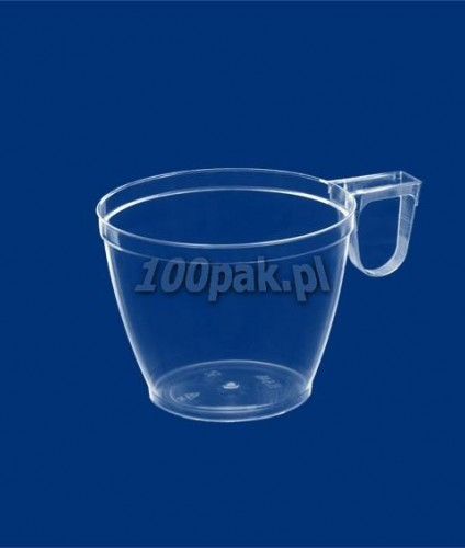Filiżanka SUPERIOR transparentna K646C 160ml PS