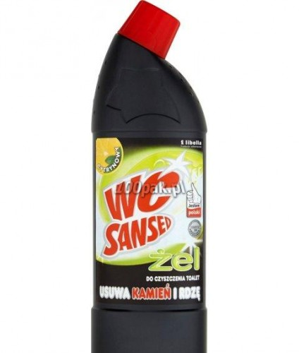 Płyn do WC Sansed żel 750 ml